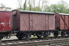 20111013 071 Wirksworth BR 12T Vanwide VWV B784652 (15038) Tags: wagon br trains goods railways freight britishrail wirksworth vwv vanwide 784652