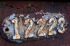 Abandoned railway #7 - 12223 (tiabunna) Tags: heritage abandoned wagon peeling pentax rusty railway australia number nsw disused michelago k30