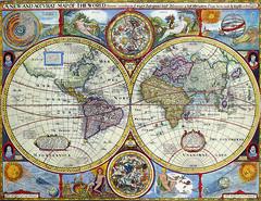 Antique Maps (divinumphoto) Tags: map johnspeed mapoftheworld antiquemapsoftheworld c1646