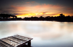pizzey park (Kash Khastoui) Tags: sunset timber jetty australia kash khashayar pizzeypark khastoui miamiqld