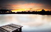 pizzey park (Kash Khastoui) Tags: sunset timber jetty australia kash khashayar pizzeypark khastoui miamiqld