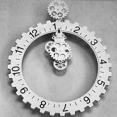 kick ass french clock