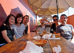 20120624_005_Nick and Jess Anjitos (rootseven) Tags: california chris people do jessica restaurants places nicholas cruz nerissa warren kc santaana tran kieuchinh caravello khuc 1130wwarnerave antojitosdonjuan