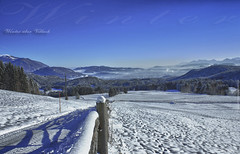 Winter Heiligengeist 3_HD_ausgearbeitet (peter pirker) Tags: winter villach schnee snow hdr dri dynamik peterfoto peterpirker canon eos550d krnten carinthia sterreich austria sonne blau wolkenlos weis landschaft winterlandschaft