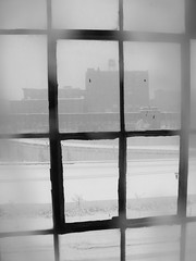 Snow storm (minnepixel) Tags: snowflake street city winter urban blackandwhite white snow ice water weather minnesota canon fun snowflakes blackwhite downtown december photographer snowstorm freezing minneapolis flake mpls firstsnow snowfall mn winterwonderland 2012 g11 firstsnowfall mnsnow canonpowershotg11 mnweather