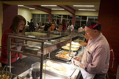 Late Night Breakfast 2012 (Carthage College) Tags: winter breakfast study exams finals midnight late carthage