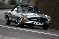 Mercedes - Benz, W113, 230SL, Automatic, Shek O, Hong Kong (Daryl Chapman Photography) Tags: auto china road door camera windows money colour classic cars window car canon hongkong lights mercedes benz drive pagoda is photo cool automobile asia flickr doors photographer power ride photos sale top great engine mirrors fast move motors ii german automatic buy vehicle driver 5d rides tax motor autos roads value dslr  quick f28 sar horsepower sheko mkiii motorcar smd 230sl carspotting 70200l w113 worldcars sundaymorningdrive darylchapman ps1149