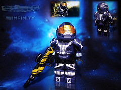 "LEGO Halo 4 - Spartan IV ""Operator"" (MGF Customs/Reviews) Tags: war lego infinity chief 4 halo games master requiem majestic ops spartan the cortana lasky fireteam unsc forerunners didact prometheans"