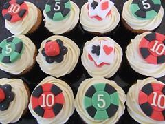 Casino Cupcakes (Victorious_Sponge) Tags: dice cards cupcakes casino