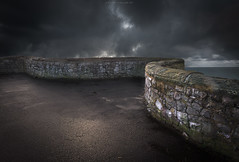 Snake (Scott Howse) Tags: uk light england cloud wall composite coast nikon somerset lee filters westonsupermare weston 2470f28 09h d800e