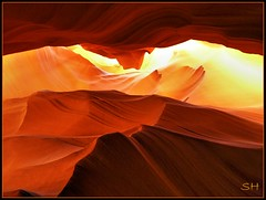 Antelope Canyon (Suzanham) Tags: canyon slotcanyon gully antelopecanyon thegalaxy intouchwithnature flickraward absolutelyperrrfect