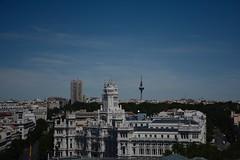 View from Crculo de Bellas Artes - Madrid, Spain (Mariasphotos) Tags: view crculo de bellas artes madrid spain europe goahead tour skidmore 2016