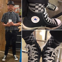 Outfit 20160724 (Freddie Avalos) Tags: outfit clothes socks shoes hat gustinjeans