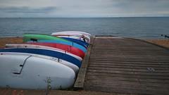 7 (ian poole) Tags: kent coast boats pier jetty sea shingle beach