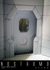 NOSTROMO-MOTHER-CHAMBER-4 (sith_fire30) Tags: alien nostromo mother muthur6000 sulaco prometheus covenant dallas ash ripley chamber corridor bridge weyland yutani scratch building model making custom action figures toys diorama art sithfire30 dayton allen
