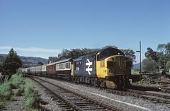 37114 Strathcarron (jbg06003) Tags: highland hr kyleoflochalsh scotrail brblue tractor class37