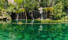 Hanging Lake (BernieErnieJr) Tags: glenwoodsprings colorado hanginglake water reflection waterfalls sonya77mkii carlzeiss2470mm greatphotographers teamsony rockymountains
