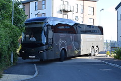 Milton Keynes Dons F.C. Team Coach (5asideHero) Tags: birmingham international coaches ltd milton keynes dons fc vdl jonckheere b1 bhx