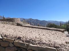 """Tilcara: toit en bois de cactus recouvert de boue <a style=""""margin-left:10px; font-size:0.8em;"""" href=""""http://www.flickr.com/photos/127723101@N04/28547377973/"""" target=""""_blank"""">@flickr</a>"""