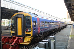 158954 (matty10120) Tags: portsmouth class train railway boat historic dockyard hms harbour 158 first great western