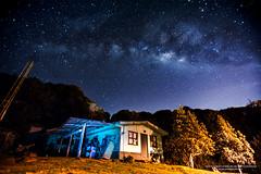 Cercanas del Volcn Barva, Costa Rica  http://www.yeudyguido.com (Yeudy Guido) Tags: costarica yeudy yeudyguidocostarica milkyway landscape puravida heredia night stars lights volcano traveler nationalpark