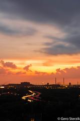 (gerotisch) Tags: sunset sonnenuntergang ruhrpott rost ruhrgebiet ruhr rohre