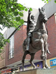 Emperor Nerva (pefkosmad) Tags: emperor nerva roman rome ancientrome romanbritain statue art publicart sculpture bronze anthonystones gloucestershire gloucester city equestrian rider horse horseman ruler founder timecapsule urban street southgate england uk romansinbritain occupation colonisation glevum