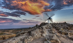 The Windmill (Frags of Life) Tags: castillalamancha lamancha spain architecture buildingexterior builtstructure colourimage consuegra day famousplace focusonforeground horizontal lifestyles locallandmark outdoors photography tradition traveldestinations wind windmillcastillodeconsuegra traditionalwindmill tranquility sunset storm clouds