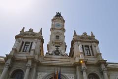 Ayuntamiento de Valencia (mairie de Valence) (gwennaelle.masle) Tags: valencia espaa espagne valence city ciudad sun soleil ayuntamiento plaa mairie