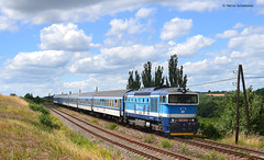 750 718-9 CD (vsoe) Tags: eisenbahn bahn personenzug diesellok taucherbrille cd ceskedrahy train passengertrain railway railroad engine czech tschechien