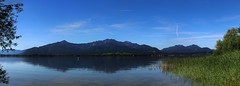 Panorama from Herreninsel. (joseph_donnelly) Tags: view alpen alps mountains lake island panorama bavaria bayern chiemsee