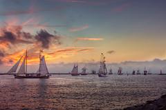 26. Hanse Sail Rostock - 2016 (LB-fotos) Tags: hanse sail rostock hansesail sunset sonnenuntergang ocean meer ostsee baltic sea coast kste warnemnde hohe dne hafeneinfahrt