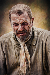 SL140816 Morwellham Quay 12 (Sh4un65_Artistry) Tags: artwork digitalart digitalpainting painteffect paintedphoto painterly people portrait raggedvictorians textured topaz topazimpression