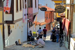 street life (Ian Riley [on the right side of the fence]) Tags: asia turky eskiehir old street