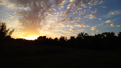 195/365 Halo (zinushana) Tags: projectlife project project365 sky sunset sundown sun  365