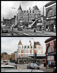 Kentish Town station (Tetramesh) Tags: tetramesh london england britain greatbritain gb unitedkingdom uk londr   londres londn londen lontoo  londain londra londone londyn llundain londrez loundres londono londinium llondon lunnainn lndra localhistory nowandthen thenandnow pastandpresent oldlondon lostlondon presentandpast londonpast socialhistory uklocalhistory londonlocalhistory transporthistory londonstransportpastandpresent londonstransportnowandthen londonstransportthenandnow tfl britishrailways britishrail networksoutheast railtrack networkrail londonunderground londontransport tube thetube metro benbrooksbank inchmole kentishtownstation kentishtownroad nw5 nw52aa kentishtown londonboroughofcamden northernline midlandmainline thameslink southeastern midlandrailway charingcrosseustonhampsteadrailway lesliegreen theassemblyhouse famousassemblyhouse assemblyhousearms bull