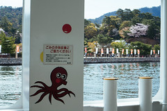 Cute ferry stickers (tiagoalexandresilva) Tags: hiroshima miyajima itsukushima asia honshu japan sonya6000