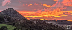 The rise of the Welsh Dragon (alun.disley@ntlworld.com) Tags: sunrise plasybrenin wales snowdonianationalpark capelcurig colour clouds landscape cloudscape uk panorama mountain hills weather hiking thebritishcountryside