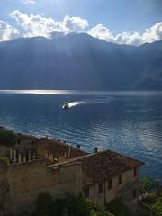 Lago di Garda. Lake Garda. View from Limone sul Garda. (elsa11) Tags: lagodigarda lakegarda gardameer gardasee limonesulgarda brescia italy italia itali lake meer see explore