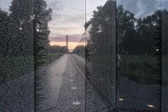 1975 (agruebl) Tags: vietnamveteransmemorial vietnamwar memorial washingtondc dc unitedstates usa sunrise reflection 1975