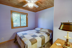 The Blue Room (jayklosinski) Tags: vacation rental northwoods snowmobiling skiing atv wisconsin michigan