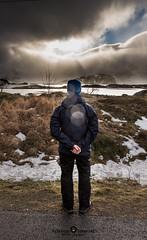 "Umarel (Federico ""Jger"" Serafini) Tags: norvegia lofoten ghiaccio rocce rocks norway aurora boreale northern light clouds nuvole sea spiaggia long exposure"