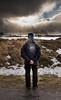 "Umarel (Federico ""Jäger"" Serafini) Tags: norvegia lofoten ghiaccio rocce rocks norway aurora boreale northern light clouds nuvole sea spiaggia long exposure"