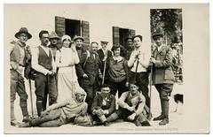Sella Nevea 1922 (spadon75) Tags: friuli montecanin realphotopostcard cartolinapostaleitaliana 1922 mountain vintagemountaineers udine italy italia alpinisti alpi sellanevea