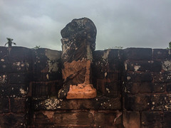 """Trinidad: les ruines de la cathédrale et ses statues décapitées <a style=""""margin-left:10px; font-size:0.8em;"""" href=""""http://www.flickr.com/photos/127723101@N04/29486225555/"""" target=""""_blank"""">@flickr</a>"""