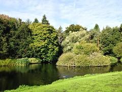 Lake at the JFK Arboretum (JulieK (finally moved to Wexford)) Tags: 2016onephotoeachday iphone5 jfkarboretum wexford ireland irish lake scenery