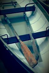 Boat On The River Dee (pjfchad) Tags: boat oar rowingboat