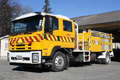 JNH  25 (ambodavenz) Tags: isuzu ftr750 pleasant point engineering rural fire appliance water tanker willowby party mid canterbury new zealand