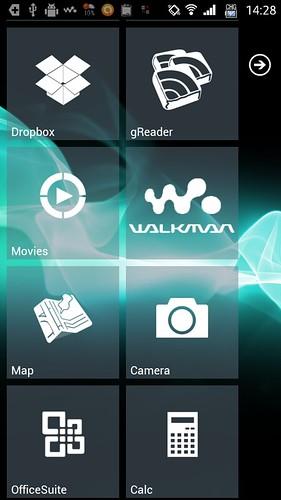 WALKMAN on Xperia SX