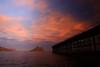Águilas (Cani Mancebo) Tags: sunset sea españa marina atardecer mar spain murcia embarcadero abandonado águilas canimancebo